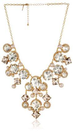 "Kate Spade New York ""Palace Gems"" Statement Necklace - http://www.womansindex.com/kate-spade-new-york-palace-gems-statement-necklace/"