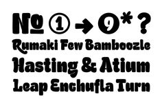 #FreshFonts St Atmos http://www.fontshop.com/fonts/family/st_atmos/ von Stereotypes #Brush #Headline #Display #Informal #Symbols #Branding #Packaging 14_18