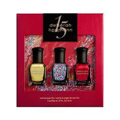 Deborah Lippmann Celebration 3-Piece Mini Set, $29.00 #birchbox