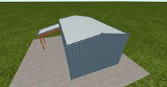 Cool 3D #marketing http://ift.tt/2tdG9VL #barn #workshop #greenhouse #garage #roofing #DIY