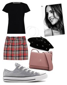 """""""school starter pack #2"""" by tesaantobing on Polyvore featuring Zimmermann, Converse, Joseph & Stacey and Steve Madden"""