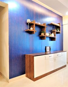 Interiors is one of the best home & office interior designers firms in Whitefield, Bangalore. Crockery Units, Crockery Cabinet, Entryway Decor, Foyer, Wall Decor, Room Decor, Room Kitchen, Kitchen Storage, Kitchen Dining