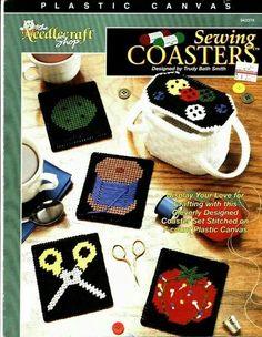 Sewing coasters 1/4