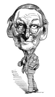 T.S. Eliot  by David Levine