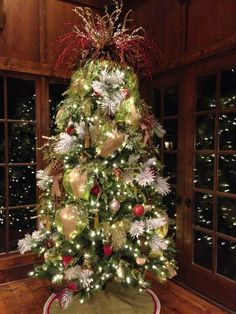 I loved decorating this tree for a client...