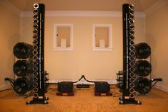 Genesis 200 / 201 4-Tower Reference Speaker System in Redwood