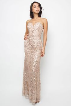 TFNC Maxi dress <br /> <br /> - Plunge neckline <br /> - Sequin detail all over <br /> - Stretch back with zip closure <br /> <br /> Material: Polyester<br /> Care: Hand Wash Only Black Sequin Jumpsuit, Sequin Maxi, Sequin Mini Dress, Rose Gold Midi Dress, Burgundy Midi Dress, Sew Maxi Dresses, Maxi Dress With Sleeves, Multi Wrap Dress, Tfnc