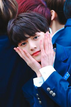 Cha Junho was born in 2002 and Produce Stand, Produce 101, Lee Dong Wook, I Hate Boys, Boy Idols, Woollim Entertainment, Junho, Celebs, Kpop