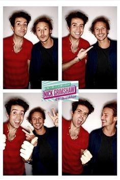 Nick and Ben Nick Grimshaw, Ben Howard