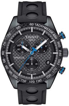 303083e7241 Tissot PRS 516 Chronograph - T1004173720100 Watches Black Watches