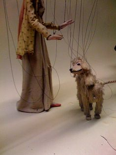 Puppet walking puppet dog!