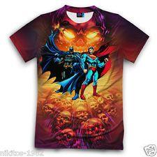 Batman vs Superman mod.5 3D print T-shirt New Cool Sports Russian made XS - 3XL