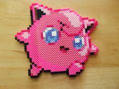 Pokemon Jigglypuff Sprite perler bead design
