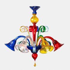 Blown Glass Chandelier, Murano Chandelier, Chandeliers, Alice Springs Chicken, Modern Lighting Design, Venetian Mirrors, Surprise Gifts, Ceiling Lamp, Murano Glass