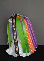 Trick or Treat Hair Streamers for Halloween! | Pony O's | Girls | Hair Accesories | Cheer | Dance