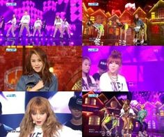 "4minute need to know ""What's Your Name?"" on 'Inkigayo'!"