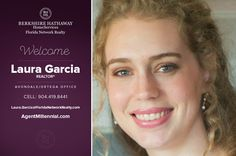 BERKSHIRE HATHAWAY HOMESERVICES FLORIDA NETWORK REALTY WELCOMES LAURA GARCIA