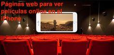 Páginas web para ver películas online en el iPhone - http://www.actualidadiphone.com/ver-peliculas-online-iphone/