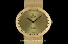 Rolex 18k Yellow Gold Oval Cellini Dress Gents Wristwatch 4319 Must Have Gadgets, Cool Gadgets, Rolex Cellini, Vintage Rolex, Breitling, Gold Watch, Pens, Clock, Watches
