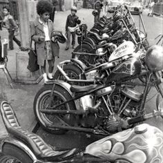 The real 60s choppers