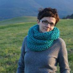 Návod na pletený maxinákrčník Crochet, Fashion, Moda, Fashion Styles, Chrochet, Fasion, Crocheting, Knits, Hand Crochet
