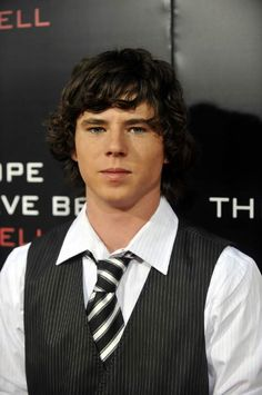 "Charlie McDermott at the ""I Hope They Serve Beer In Hell"" premiere in September 2009..."