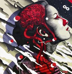 dourone-street-art-8 - A selection of the street art creations of Dourone, a Spanish artist who started in 1999 in the streets of Madrid, and who since 2012 forms a duo with his companion Elodieloll. With their slogan Art for Humans, this duo of street artists travel the world to create impressive and monumental murals, always centered on humanity, respect, tolerance and sharing