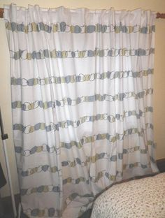 pair long retro tab top cotton kitchen curtains abstract apple design like ikea unknown