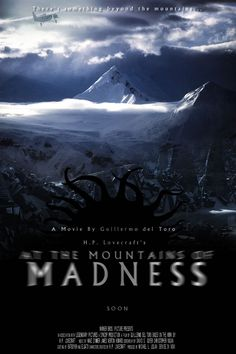 At The Mountains Of Madness Mock Poster Lovecraft Cthulhu, Hp Lovecraft, Zbrush, Call Of Cthulhu Rpg, Cthulhu Art, Mountains Of Madness, Yog Sothoth, Lovecraftian Horror, Weird Dreams