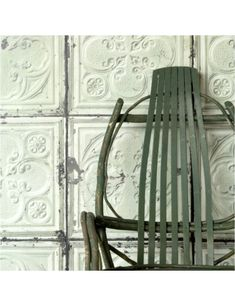 Brooklyn Tins Tile Wallpaper Online direct from the UK. Buy Brooklyn Tins Merci designer wallpaper collection today for best price & quick delivery Brooklyn, Merci Shop Paris, Shabby Chic Design, Wall Fires, Tile Wallpaper, Wallpaper Designs, Wallpaper Ideas, Tin Tiles, European House