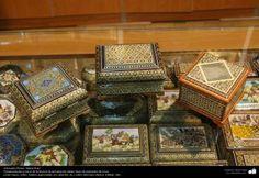 Artesanía Persa- Jatam Kari (Marquetería y Ornamentación de objetos) - 48