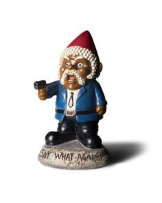 Pulp Fiction Say What Again! Garden Gnome is a hilarious rude novelty garden gnome perfect for gardeners and pulp fiction lovers. Funny gifts with up to 50% OFF.