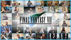 Main Theme of Final Fantasy VII - Wind Ensemble Collaboration ft. Piccolo Flute, English Horn, Bass Clarinet, Tenor Sax, Final Fantasy Vii Remake, Second Love, Double Bass, Main Theme, Finals