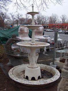 Beau Cast Iron Garden Fountains Inspiration