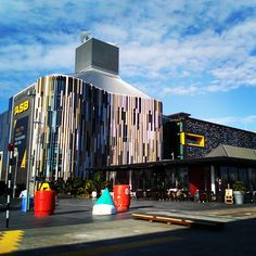 """""""Here's one for you @kat_martindale #bvn #asb #wynyardquarter #auckland #architecture #NZ"""""""