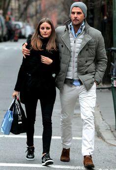 Olivia Palermo wearing Givenchy Antigona bag Jimmy Choo Miami Low Top Trainers