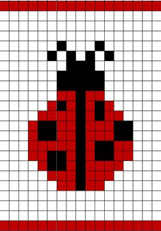 Ravelry: Ladybug Chart by Annie Brunet