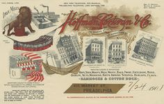Hoffman, Corkran + Co. Rope, Yarn etc (Philadelphia, Pennsylvania) 1901 ac by peacay, via Flickr