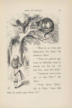 """Les illustrations de John Tenniel pour """"Alice au pays des merveilles"""" de Lewis…"""