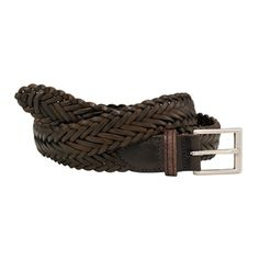 Savile Row Brown Leather Braided Belt Finest quality brown leather braided belt with rectangular white metal buckle. The braiding not only looks fabulous but does away with the need for eyelets and makes it dead easy to get a perfect fit  http://www.comparestoreprices.co.uk/mens-clothing-accessories/savile-row-brown-leather-braided-belt.asp