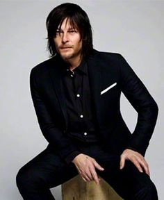 Norman the model.