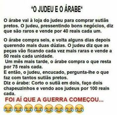 O judeu e o árabe The Fool, Haha, Jokes, Entertaining, Funny, Lame Jokes, Funny Jokes, Jew Joke, Dark Humor Jokes