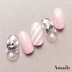 48 Amazing Nail Art Designs For Christmas Love Nails, Pretty Nails, Nails 2018, Japanese Nails, Nagel Gel, Simple Nails, Nail Arts, Manicure And Pedicure, Diy Nails