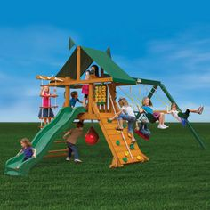 Gorilla® Playsets High Point Playset - Do It Yourself