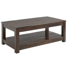 Parsons Coffee Table - Tobacco Brown $399.95