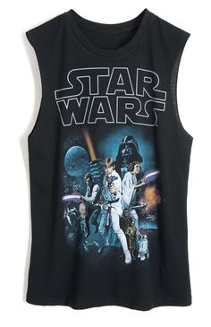 Show off your inner nerd with this Star Wars shirt from Forever 21 #editorspick #starwars