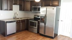"""""""Assembly was a little confusing at first but after about 20 minutes, we were able to figure out how the bracket system worked. After that, the assembly was a breeze and I had my 8 year old help me build the rest of the cabinets. My next remodel will definitely use Kitchen Cabinet Kings."""" ~ Aaron Boggs 