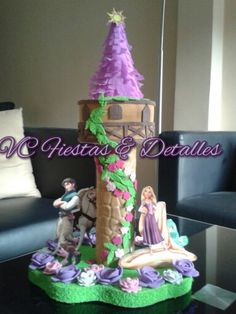 Tangled Party, Children, Cakes, Google, Princess Party, Tangled, Centerpieces, Meet, Kids
