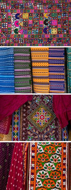 The textiles and crafts of the Kutch region of India are world famous, and for good reason! From colorful embroidery laden with glittering mirrors to intricate block prints done by hand, the textiles and crafts are some of India's finest. Read on for photographic proof... and to learn how the crafts of Kutch can fund your next trip to India!