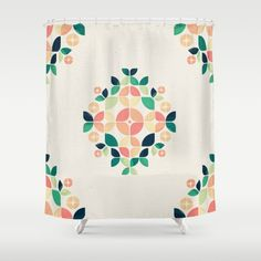 The Bouquet Shower Curtain by VessDSign | Society6